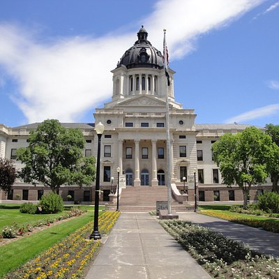 Exterior of SD Capitol