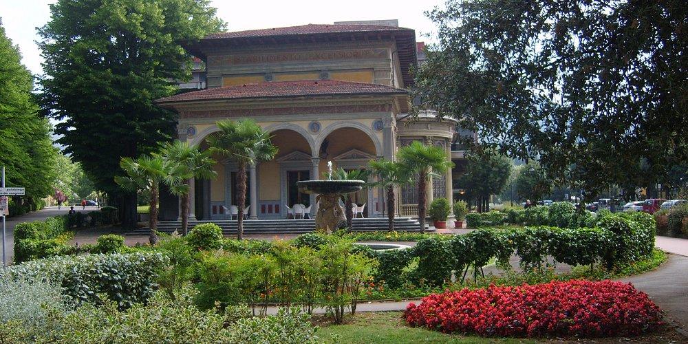 Spa Building in Montecatini Terme