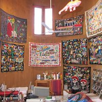Tsonga embroidered and beaded cloths