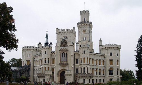 The castle at Hluboka nad Vltavou