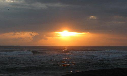 Playa Gandoca sunrise