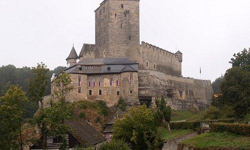 Kost Castle, 4 km northwest of Sobotka