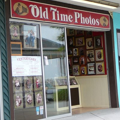 Entrance to Old Time Photos in Rehoboth Beach