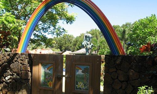 Entrance to Children's Garden