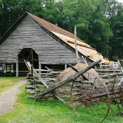 Barn at Mountain Farm Museum