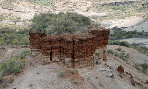 Oldupai Gorge - the origin of humans.