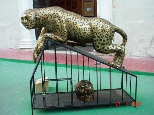 Arte moderno.  Jaguar-hombre