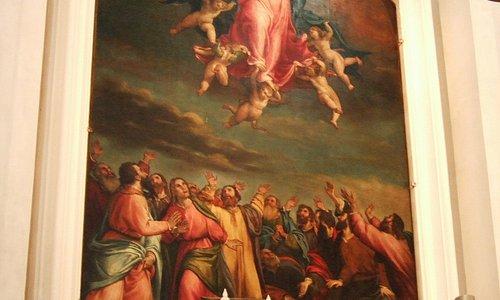 ロレンツォ・ロットの「聖母被昇天」