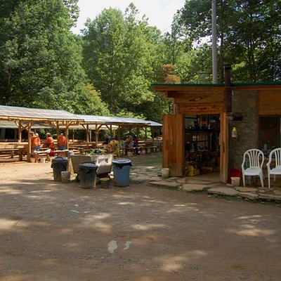 Mason Mine Entrance and main office