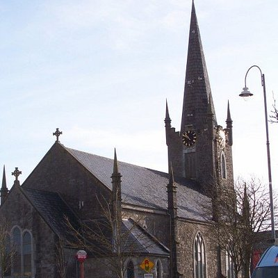 Arts centre in Listowel (Why yes, it does look like a church)