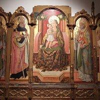 カルロ・クリヴェッリの聖母子と諸聖人