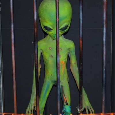 Area 51 exhibit.. v scary!