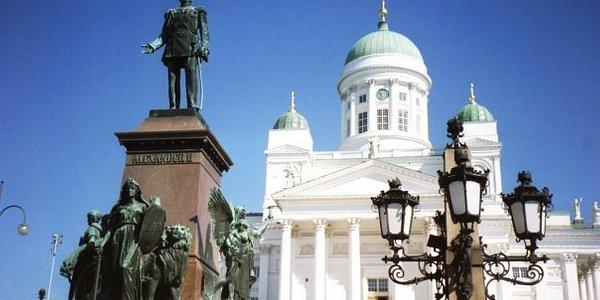 Finland/Helsinki 2002 Hervormde kerk