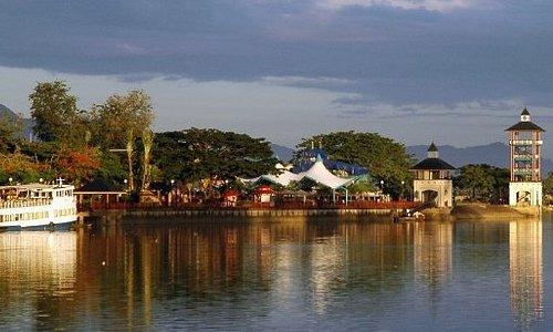 Kuching at sunrise
