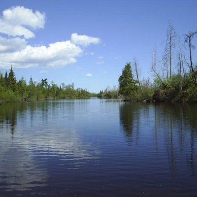 Poplar lake, off the Gunflint Trail road.