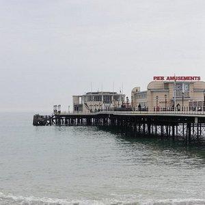 also the pier