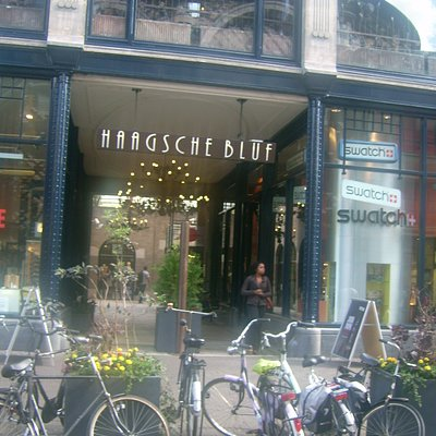 One of the entrance's to the Haagse Bluf