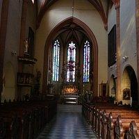 Inside of Church of St John the Baptist
