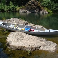 Canoeing on the Willamette River, Oregon