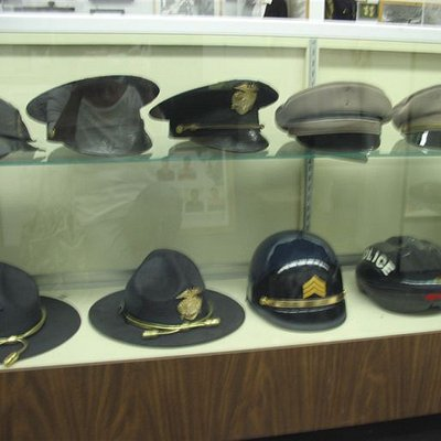 collection of Police hats