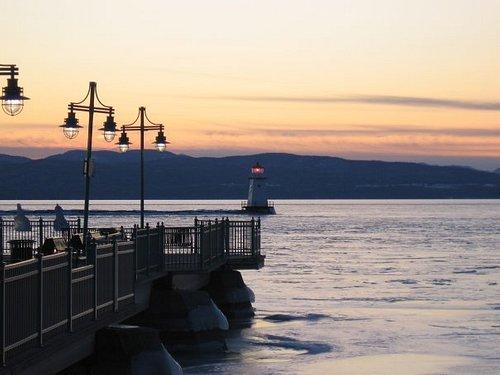 Lake Champlain in Burlington