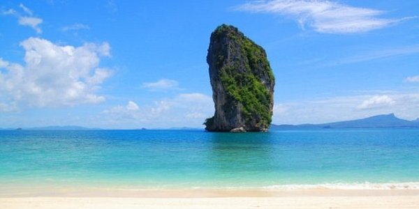 Poda Island. Great for snorkeling.