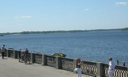River Volga at Samara