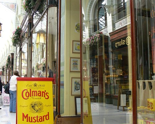 Outside the Mustard Shop