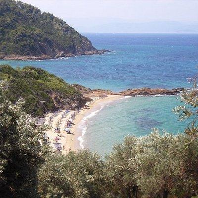 Little Banana Beach, Skiathos, Greece