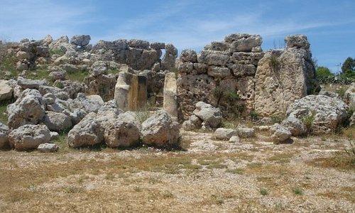 Tempel von Ggantija - die älteste Anlage Maltas