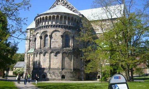Dom -Rückseite-, Lund