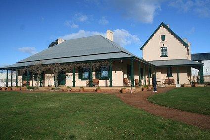 Entally House - main building