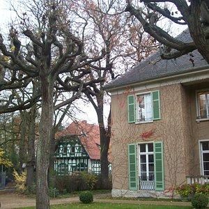 The villa in November