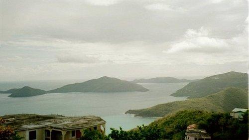 view of the British Virgin Islands...Bath, Gorda