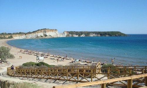 Plaža Gerakas, krajnji jug poluostrva Vasilikos