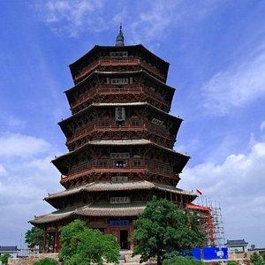 Wooden Pagoda- Yingxian, CH