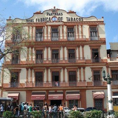 the Partegas cigar factory.