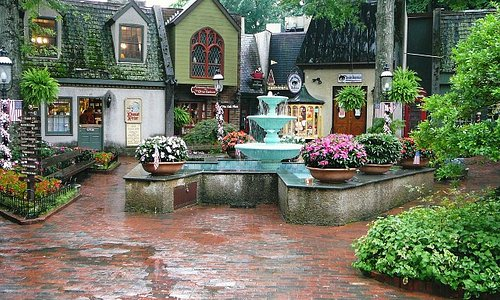 The Village Center & Fountain