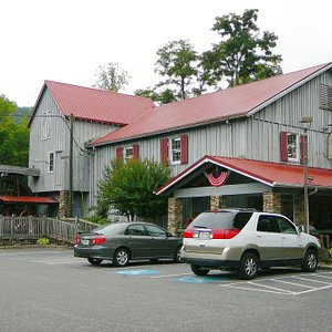 Entrance to Saunooke Mill