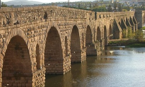 Puente Romano sobre el Guadiana