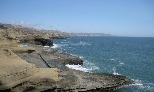 hermosa vista desde el sitio en que se encuentra La Lobera