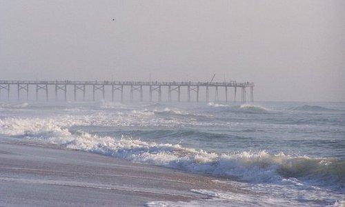 Pier on Carolina Beach, NC