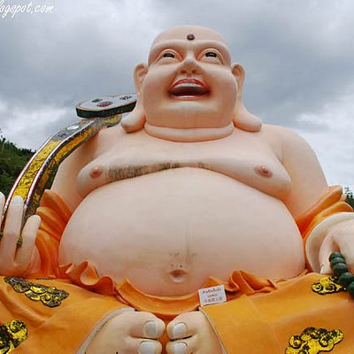 Budai 布袋 The Laughing Fat Buddha 笑佛