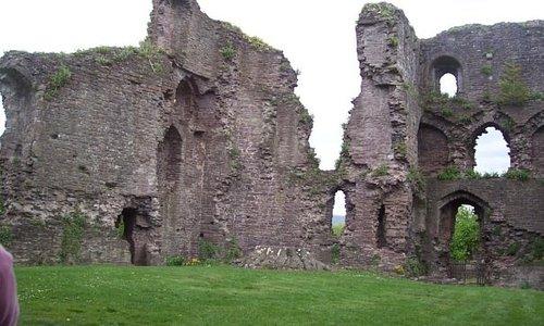 Abergavenny Caslte in Wales