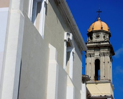 Tower os the cathedral. Colima City.