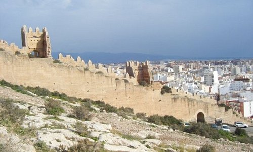 Moorish wall - Almeria, Spain