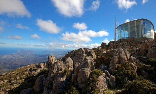 The Pinnacle, Mt Wellington, Hobart, TAS