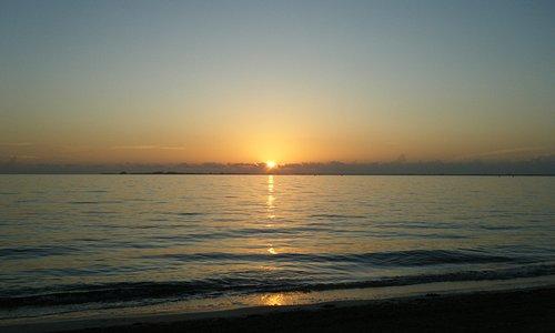 sunrise at EPM beach