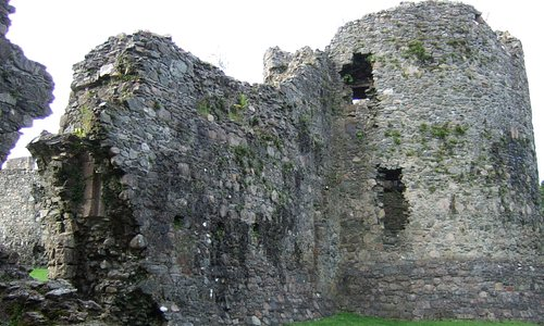 Old Inverlochy Castle.Scotland.