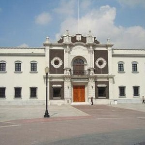 La Pinacoteca is housed in this Historic Building